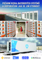Fire Hazards of Battery Systems and Recommendations on How to Avoid Them – CZ (2019)